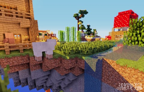 我的世界破碎的世界空岛生存地图分享图片
