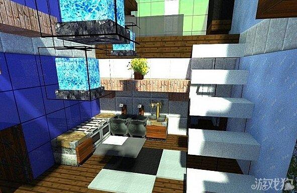 我的世界双子楼棕榈园酒店建筑展示分享