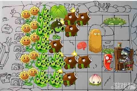植物大战僵尸3炫酷手绘地图欣赏_游戏狗植物大战僵尸3