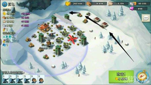 海岛奇兵巨龟雪地地图怎么打能无损_游戏狗海岛奇兵