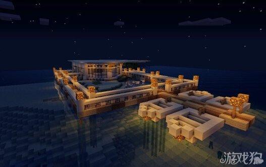 我的世界水面别墅创新建筑分享