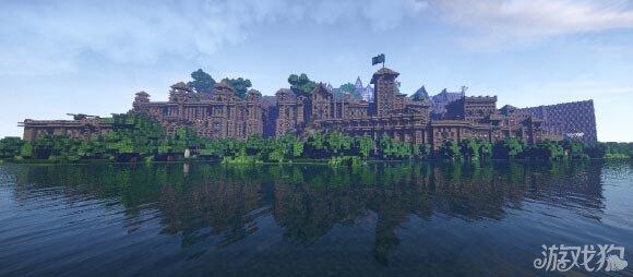 我的世界大型欧式城堡建筑分享