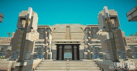 我的世界法老神殿 埃及风格建筑群落