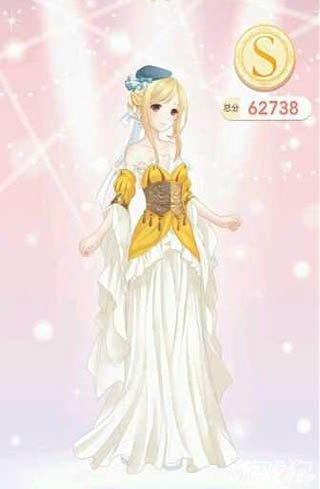 动漫欧式公主裙