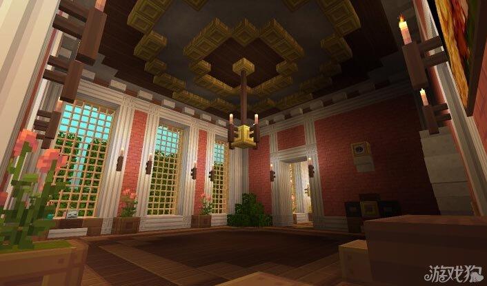 我的世界巴洛克风格子爵城堡