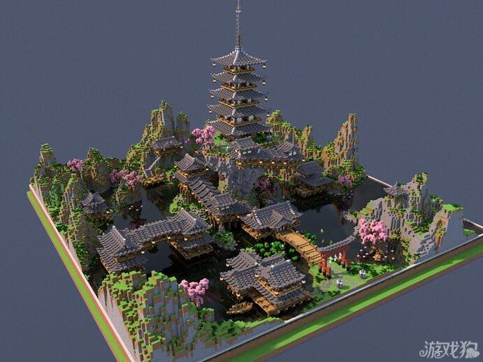 我的世界磐仙石 日式风格建筑