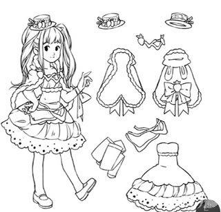 奇迹暖暖手绘连衣裙套装方法分享