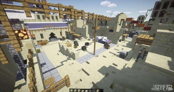 我的世界反恐精英csgo沙漠2地图图片