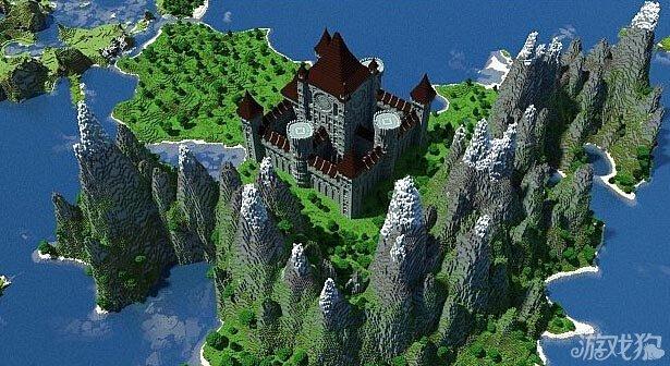 我的世界国王的城堡展示