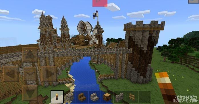 我的世界城堡要塞存档