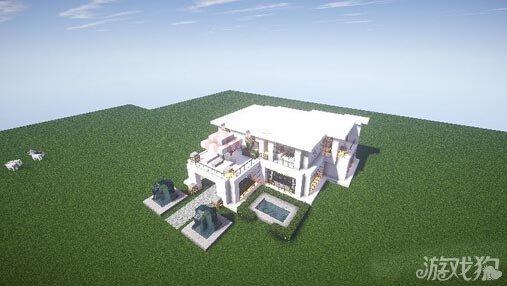 我的世界别墅设计图实例展示 打造另类mc别墅