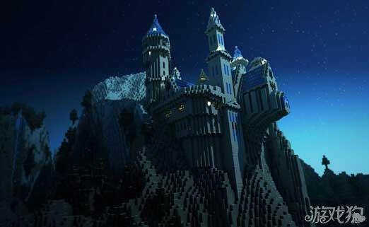 我的世界城堡设计图 作品效果展示图汇总