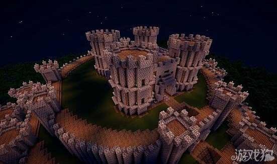 我的世界城堡设计图