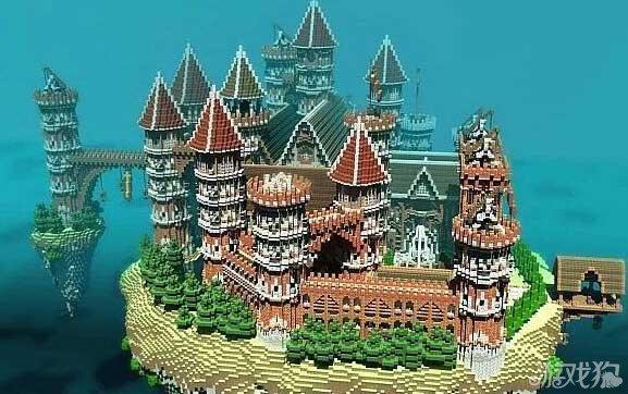 我的世界建筑设计图 我的世界别墅设计图纸 我的世界城堡怎么建 我的图片