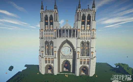 我的世界阳年教会存档分享 教堂式建筑