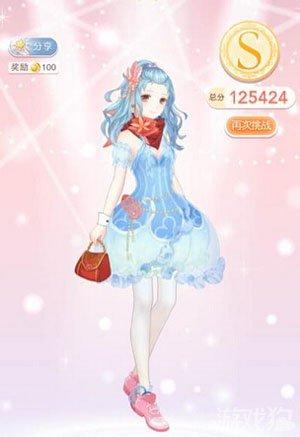 奇迹暖暖6-5绫罗的反镜幻影公主级高分方案,本关的属性是华丽活泼可爱
