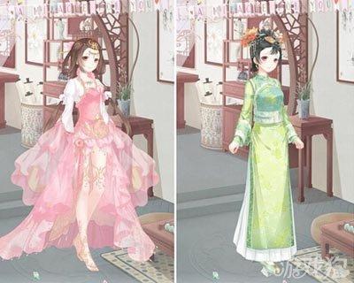 奇迹暖暖中式古典服饰搭配风格心得图片