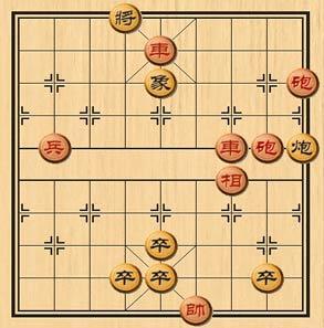 天天象棋火烧连营残局棋盘走法说明
