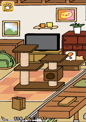 猫咪后院后院桌子上的感叹号作用解析图片
