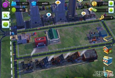 好玩的模拟经营游戏,道路的规划对整个城市的布局都起到了至关重要的图片