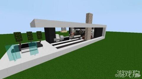 我的世界现代风格别墅建造技巧