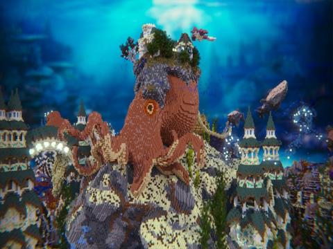 我的世界海底王国 失落的秘密存档分享