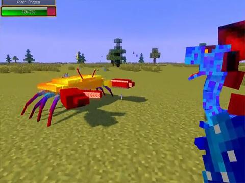 我的世界怪物疯狂大乱斗mod1.7.10版本