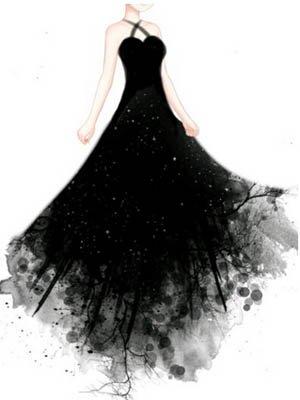 玩家暖暖露天设计连衣裙图例欣赏图纸煤矿奇迹、供图纸排电图片