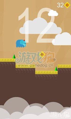 超级爱弹跳金币解锁方法及道具使用,游戏中玩家需要控制小动物