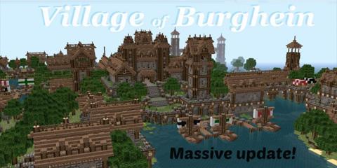 我的世界中世纪村庄地图分享