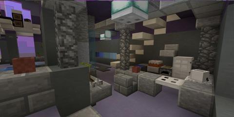 我的世界未来风格公寓 体验高科技生活