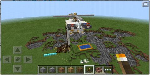 我的世界甘氏直升机地图存档分享