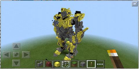 我的世界大黄蜂建筑模型存档分享