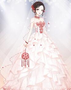 奇迹暖暖梦恋奇迹婚纱有没有设计图