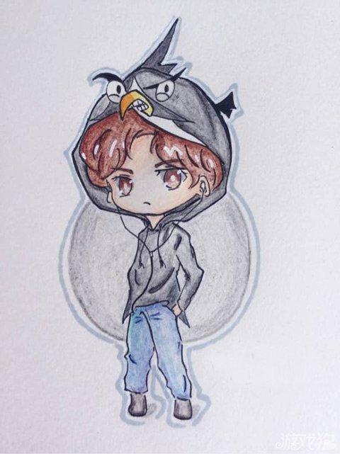 愤怒的小鸟2李易峰玩家手绘图