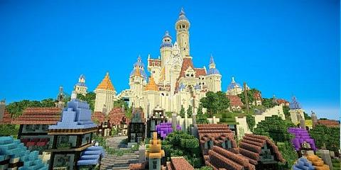 我的世界魔幻迪士尼魔法奇缘小岛存档分享