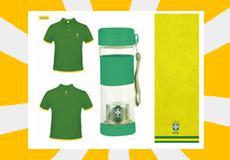 巴西国家足球队运动组合三件套