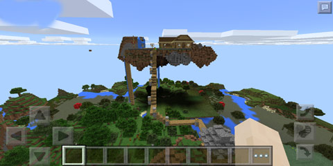 我的世界浮空庄园地图存档分享