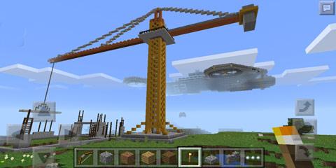 我的世界神盾局天空母舰模型存档分享