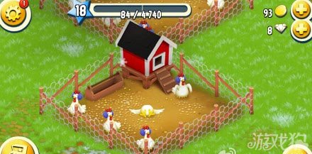 卡通农场小动物的冬季新装展示