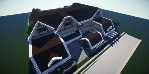 我的世界精装修拎包入住 豪华大型别墅