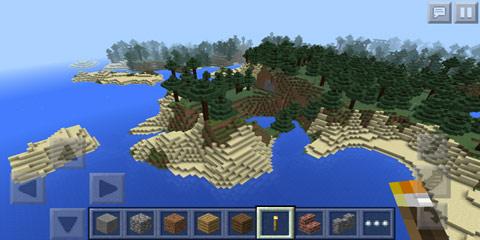 我的世界v0.13.0沙滩岛屿森林种子