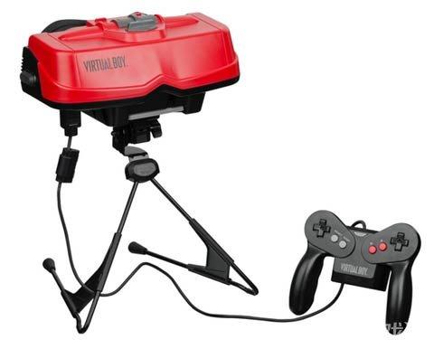 90年代头戴式虚拟现实游戏设备