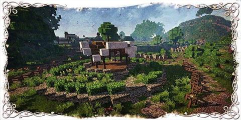 我的世界矮人的村子 指环王夏尔霍比屯存档