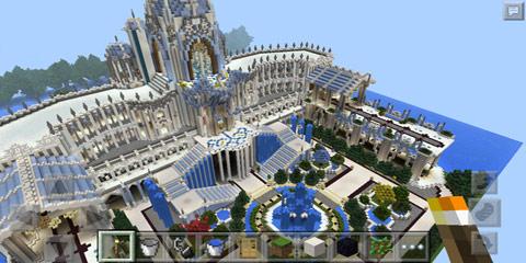 我的世界精美城堡 安特拉冰雪城堡