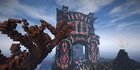 我的世界魔幻宫殿建筑
