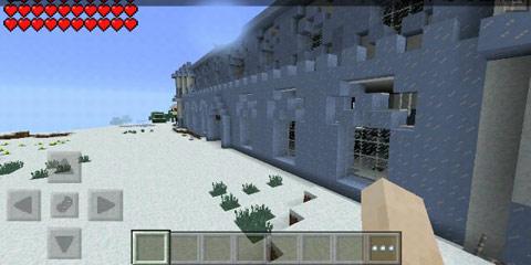 我的世界冰雪城堡建造步骤图片