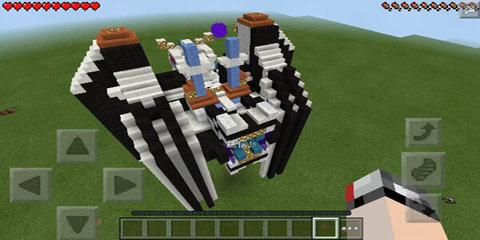 我的世界大型机甲模型 机甲冥王z
