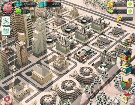 模拟城市建造面朝大海的城市布局分享图片