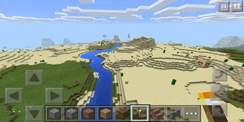 我的世界v0.13被掩埋的沙漠神殿